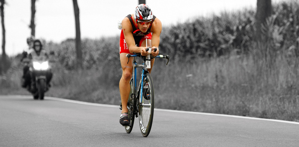 Triathlet Simon Jung